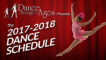 2017-2018 Dance Schedule Is Here!