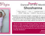 Meet Our Dancer of the Month – Shoshanna